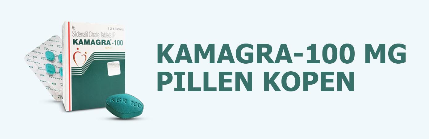 Kamagra 100mg pillen kopen in Nederland